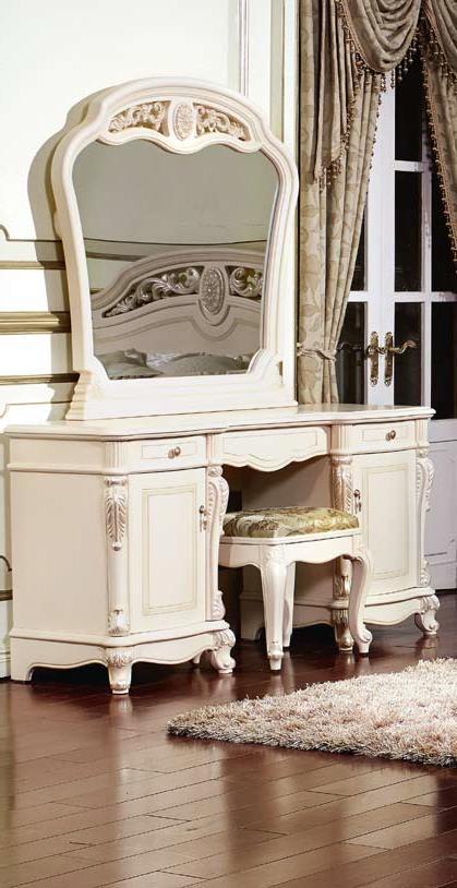 Туалетный стол с зеркалом Афина