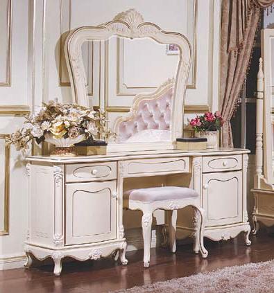 Стол туалетный с зеркалом Аврора