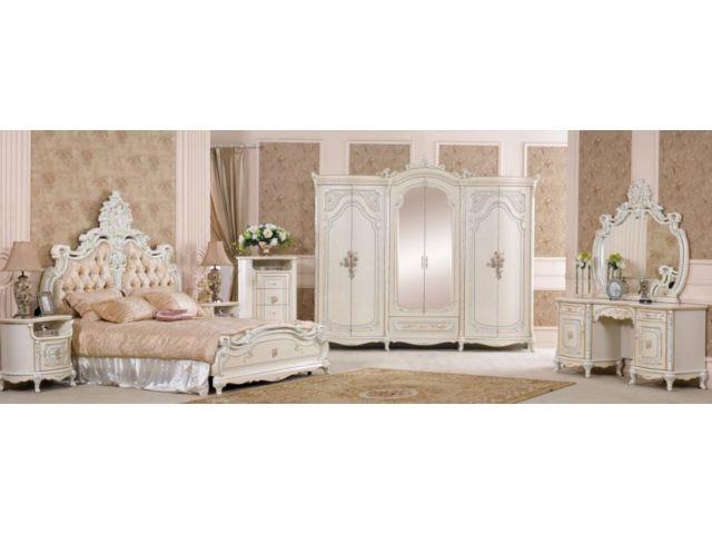 Туалетный стол с зеркалом Королева 3876