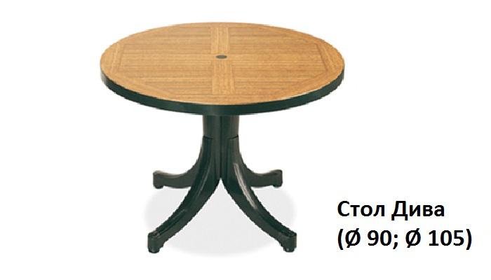 Стол Браво (Ø 90)