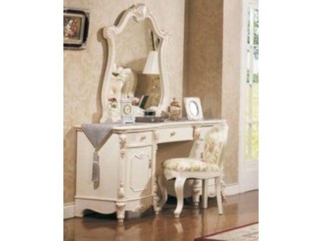 Туалетный столик Лоренцо с зеркалом