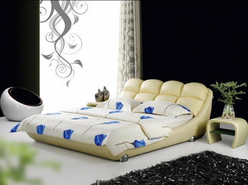 Кровать Аонидиси 170 кремовая