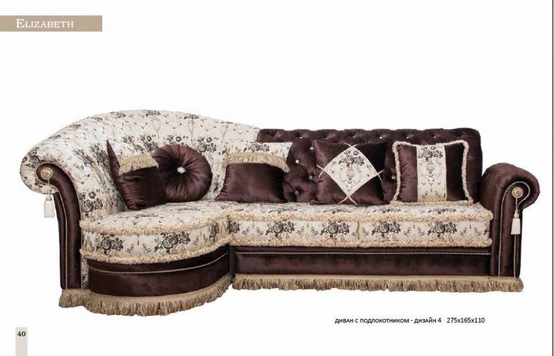 Комплект мягкой мебели «Elizabeth»